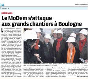 Alain Dolium à Boulogne Bill