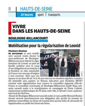 Le parisien14 juin10 Léonid