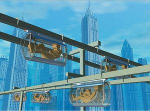 Transport futuriste