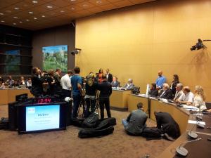 Conférence de presse Bayrou juillet 11