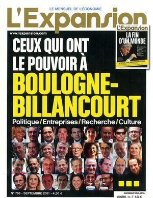 l'Expansion personnalités politiques boulogne-billancourt pouvoir blog MoDem Boulogne