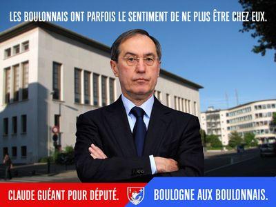 Claude guéant Boulogne aux boulonnais