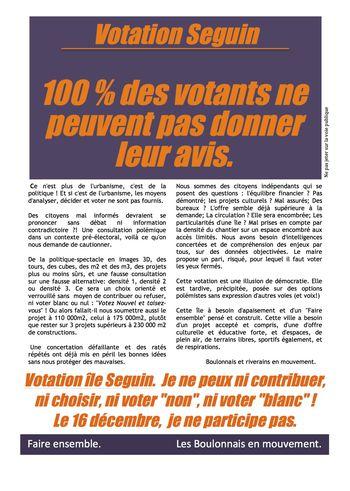 Tract votation ile seguinDEF