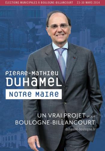 Pierre-Mathieu Duhamel Boulogne-Billancourt programme couv